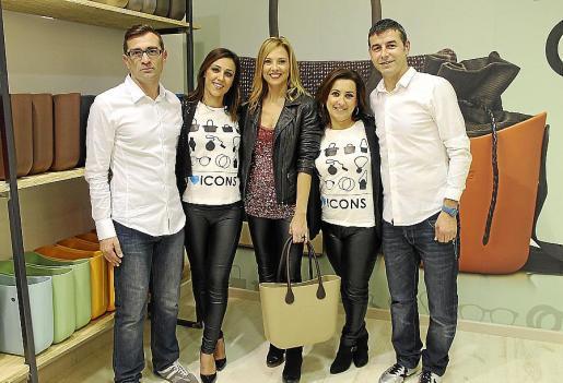 Santi Bosch, Mar Barceló, Victoria Maldi, Kika Morell y José Barroso.