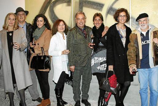 Cheché Pérez de Hita, Salvador Alavedra, Carme Sirvent, Mari Luz Alonso, Josep Sirvent, Concha Palou, Gema Mestre y Joan Antoni Pascual.