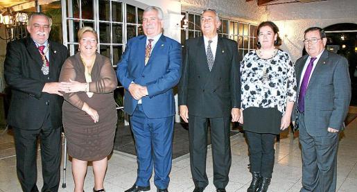 Jeròni Serra, María Luisa Marí, Manuel Sañudo, Antonio Sánchez, María Luisa González y José Martínez.