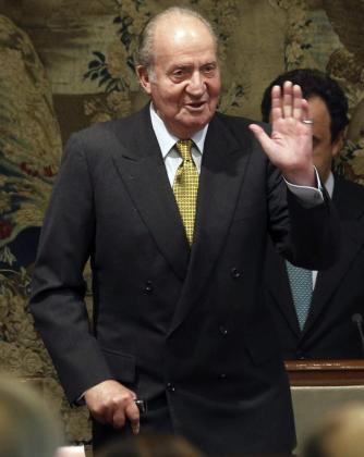 """Fotografía de archivo don Juan Carlos,tomada el 27/10/2014, durante la entrega del """"Premio de Economía Rey Juan Carlos""""."""