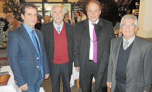 Sebastià Ferrer, Toni Corró, Toni Bestard y Sebastià Garí.