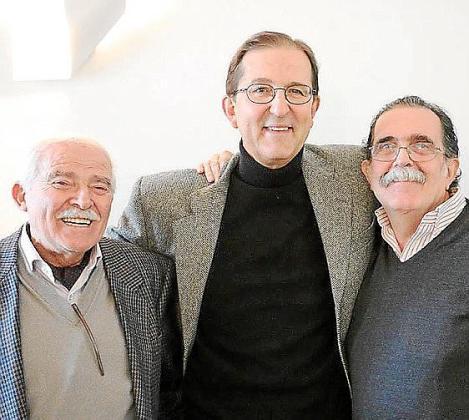 Joan Cunill, Tito López y Tolo Albertí .