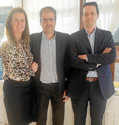 Aina Pinya, Guillermo Carbonero y Francesc Guerrero.
