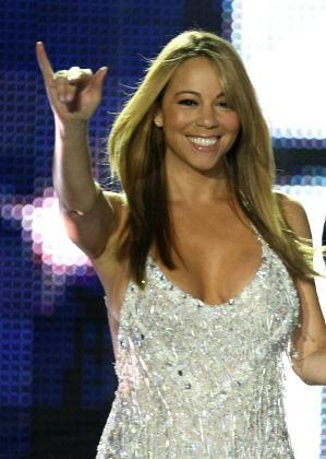 Mariah Carey, en una gala musical celebrada en Montecarlo en 2008.