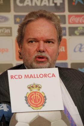 El presidente del Real Mallorca, Utz Claassen.