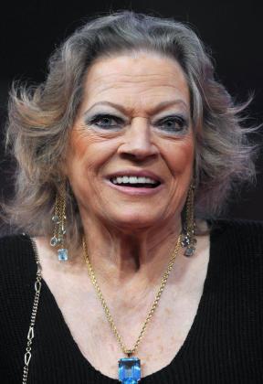 La actriz, Anita Ekberg.