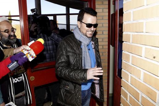 El torero José Ortega Cano ha vuelto a la prisión de Zuera (Zaragoza), donde cumple una condena de dos años y medio por provocar un accidente de tráfico mortal en 2011.