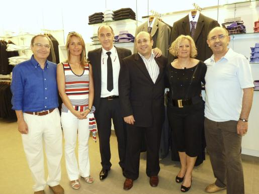Manolo Ulloa, Eva Cano, Simón Valls, Josep Torres, Carmen Guerrero y Helio Romera.