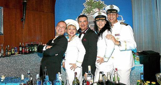 Max Bellán, Mari Carmen Ibáñez, Guillermo Cabot, Cristina Sañudo y Lorenzo Bauzá.