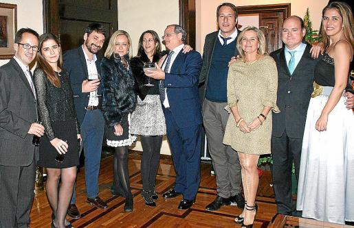 Javi Ferrer, Ana Miralles, Gabi Fiol, Inmaculada Salvá, Marta Dezcallar, Nacho Deyá, Frank Bieramperl, Lluch Deyá, Luis Clar y Carmen Pérez de Burgos.