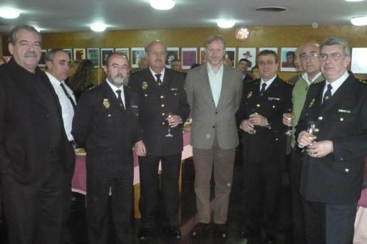 Socias felicitó a los agentes por su trabajo de todo el año.