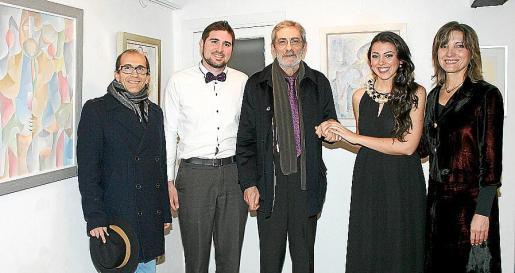 Dimitru Fabian, Daniel Mulet, Antoni Verger, Marga Rodríguez y Adela Bayo.