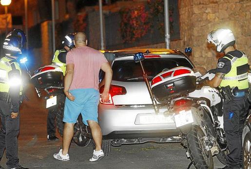 Imagen de un operativo del Grupo de Acción y Prevención de la Policía Local.