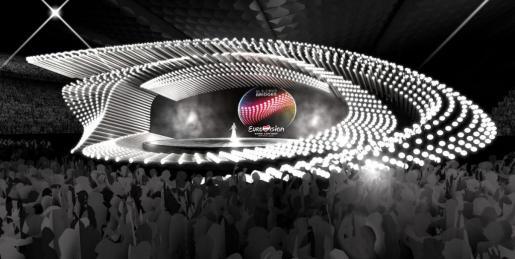 Así será el escenario de Eurovisión 2015.
