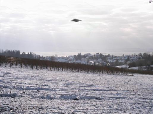 Muchos argumentan con fotos el avistamiento de OVNIs.