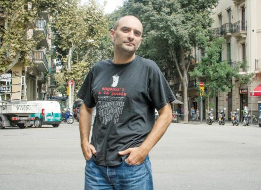 El músico Joan Miquel Oliver