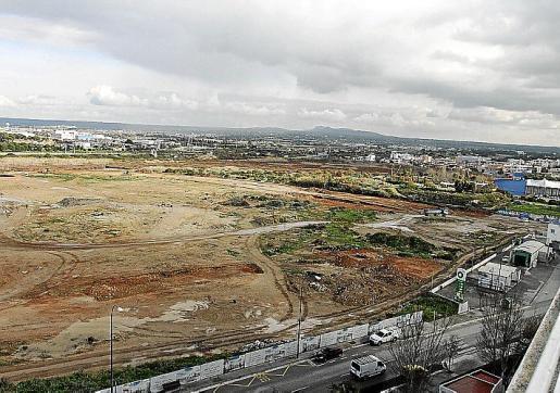 Viista general de ses Fontanelles, en Palma, donde se crostruirá un centro comercial.