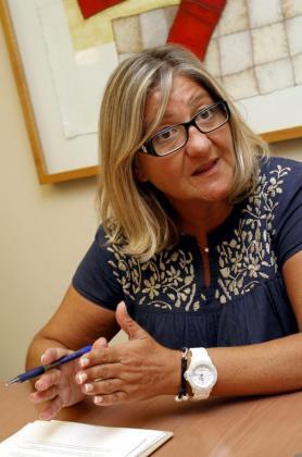 La directora general de Ordenación, Innovación y Formación Profesional, Isabel Cerdà Moragues.