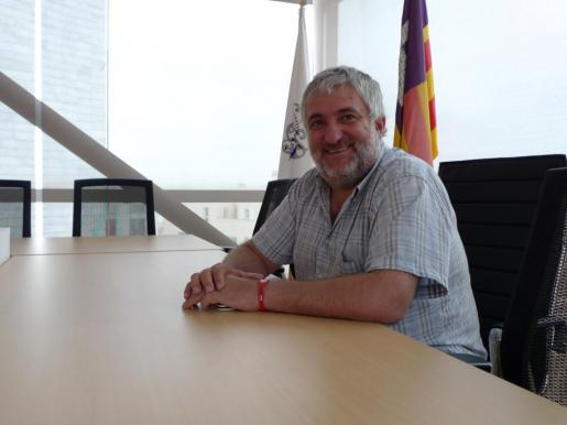 El alcalde de Lloseta Bernat Coll.