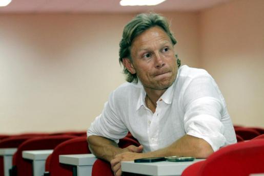 El técnico ruso del Real Mallorca, Valeri Karpin, en las instalaciones del club palmesano.