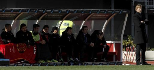 Karpin, durante el partido.