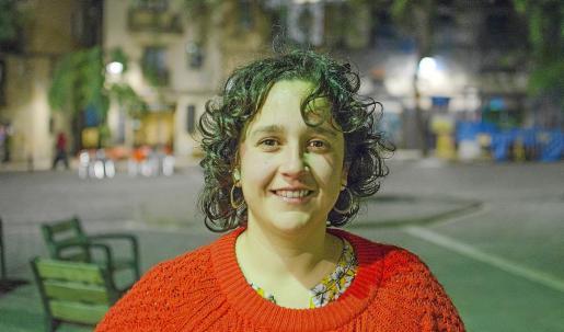 La cantante mallorquina Joana Gomila posó en Barcelona, donde prepara esta obra, con motivo de esta entrevista.
