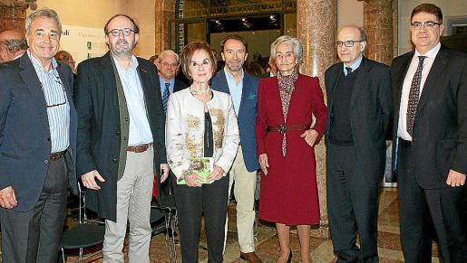 Juan Font, Mundo Fortuny, Juana María Román, Alvaro Delgado, Leonor March Cencillo, Oriol Bonnín y Antoni Bennàssar.
