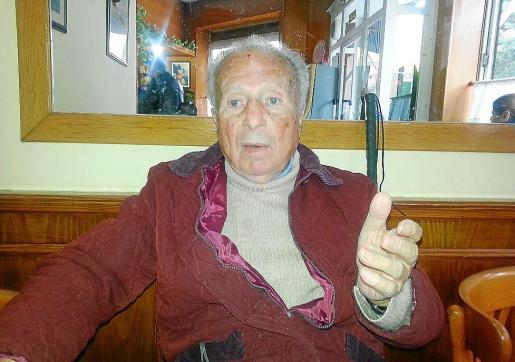 José López llegó a Palma al principio de la crisis y reside en la residencia de la Bonanova desde hace tres años.