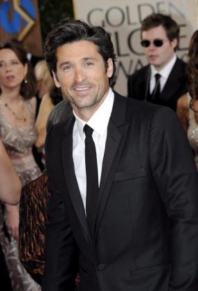 EFE - EEUU - GLOBOS DE ORO - ACE - CINEMA - JGM67. BEVERLY HILLS (EEUU), 11/01/09.- El actor estadounidense Patrick Dempsey posa hoy, 11 de enero de 2009, a su llegada a la edición 66 de los Globos de Oro, en el hotel Beverly Hilton, en Beverly Hills, California (EEUU). EFE/PAUL BUCK EEUU - GLOBOS DE ORO - BEVERLY HILLS - CALIFORNIA - EEUU - PAUL BUCK - pkb OS JAM