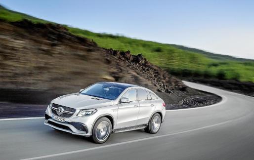 Con el nuevo GLE 63 Coupé, Mercedes-AMG arranca con un extraordinario dinamismo en el año automovilístico 2015.