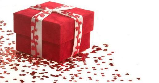 El regalo es más atractivo si está envuelto con cariño.