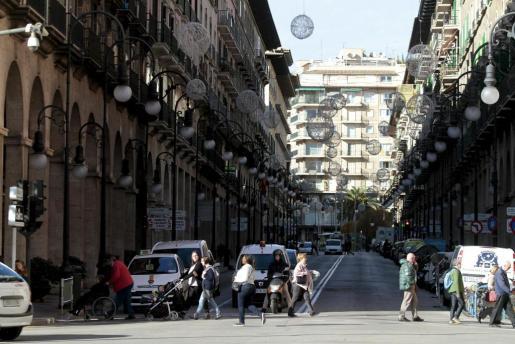 Jaume III es una de las calles más caras de Palma.