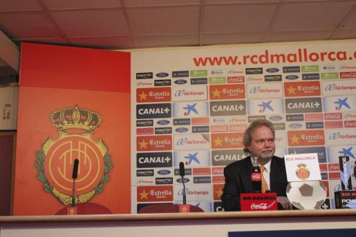 Utz Claassen, presidente del Real Mallorca.