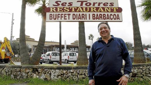 Jordi Carreras es uno de los propietarios de Ses Torres, en Ariany.