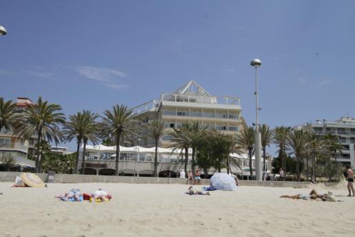 Imagen del hotel Garonda en la Platja de Palma.