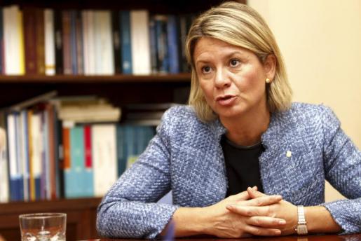La conseller de Educació, Núria Riera.