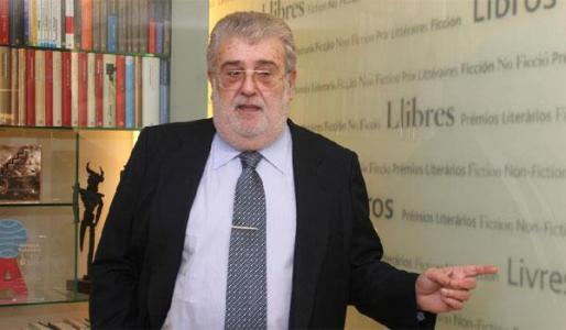 El editor José Manuel Lara.