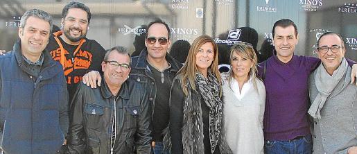 Pepe Crespí, Fernando Calderón, Isidro Arenas, Amancio Jiménez, Juana Mari Coll, Antonia Hurtado, Roberto Gil y Pedro Mesquida.