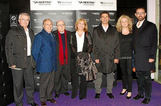 Llorenç Juliá, Fernando Alzamora, Miquel Alenyà, Marga Morey, Gabriel Company, Patty de Luque y Alejandro Sáenz de San Pedro.
