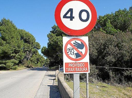 En su momento el Ajuntament de Capdepera ya colocó carteles informativos.