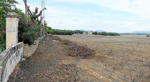 La finca de Santa Cirga, junto a Son Crespí, es una de las más extensas del municipio de Manacor.