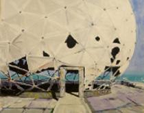 Una de las obras que forman parte de la exposición colectiva 'Paradís terrenal'.