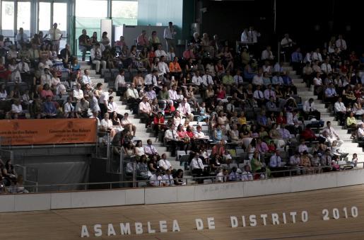 Asamblea anual de los testigos de Jehová, que se celebra desde el viernes en el Palma Arena.