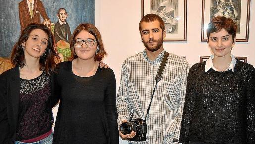 Marina Cànoves, Nuria Sánchez, David Jiménez y Bel Gomila.