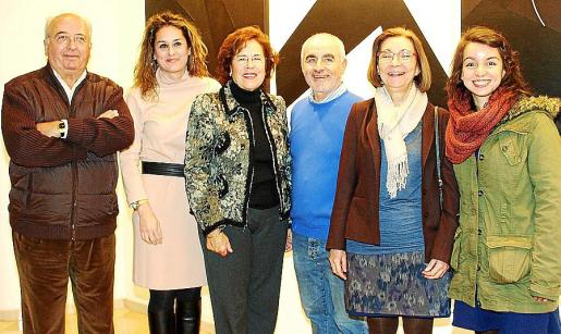 Gabriel y Rosa Vanrell, Juanita Pons, Toni Jordi, Cati Ballester y Aina Jordi.