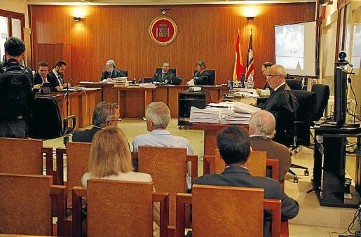 El juicio del 'caso Can Domenge' se celebró en junio de 2013.