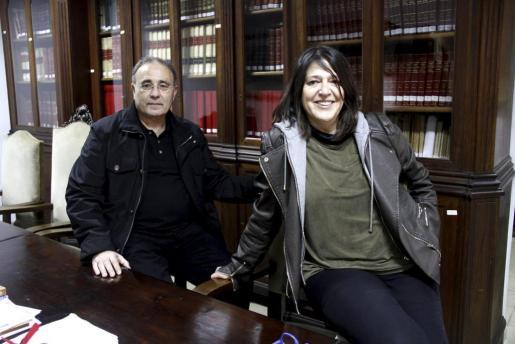 Josep Prohens y Cristina Ros.