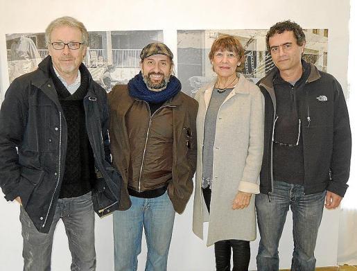Luis Maraver, Navarro Durruty, Marita Cort y Joan Pascual.