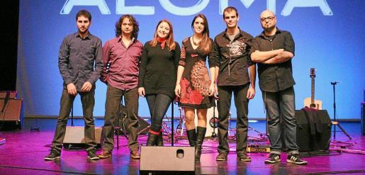 Toni Mena, Francisco García, Elvira Quetglas, Núria Galmés, Xavier Sitges y Curro Viera.
