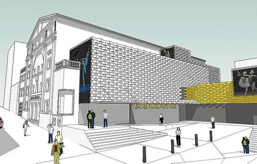 Imagen virtual del Teatre Principal.